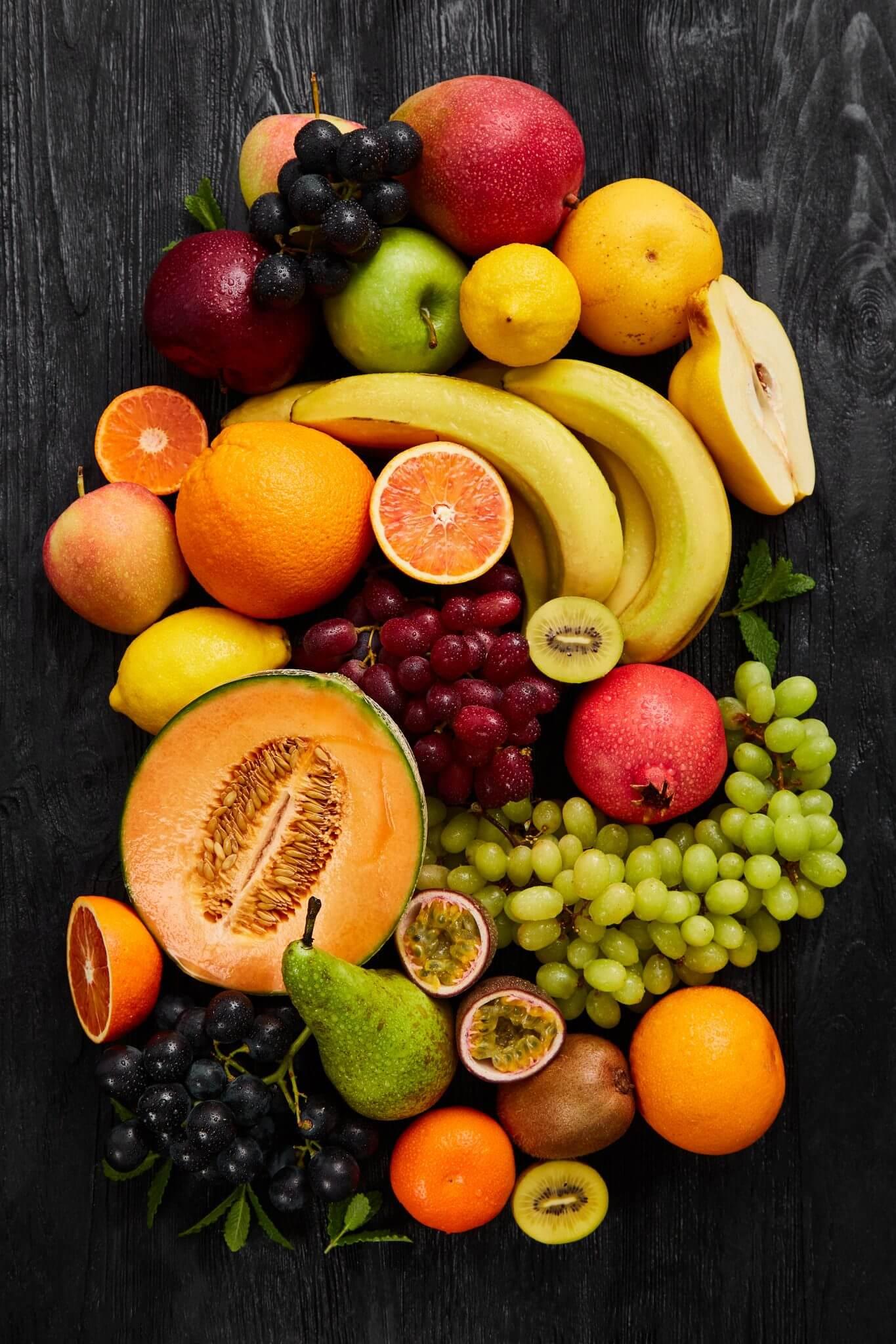 Teoria - Owoce - Kompozycja
