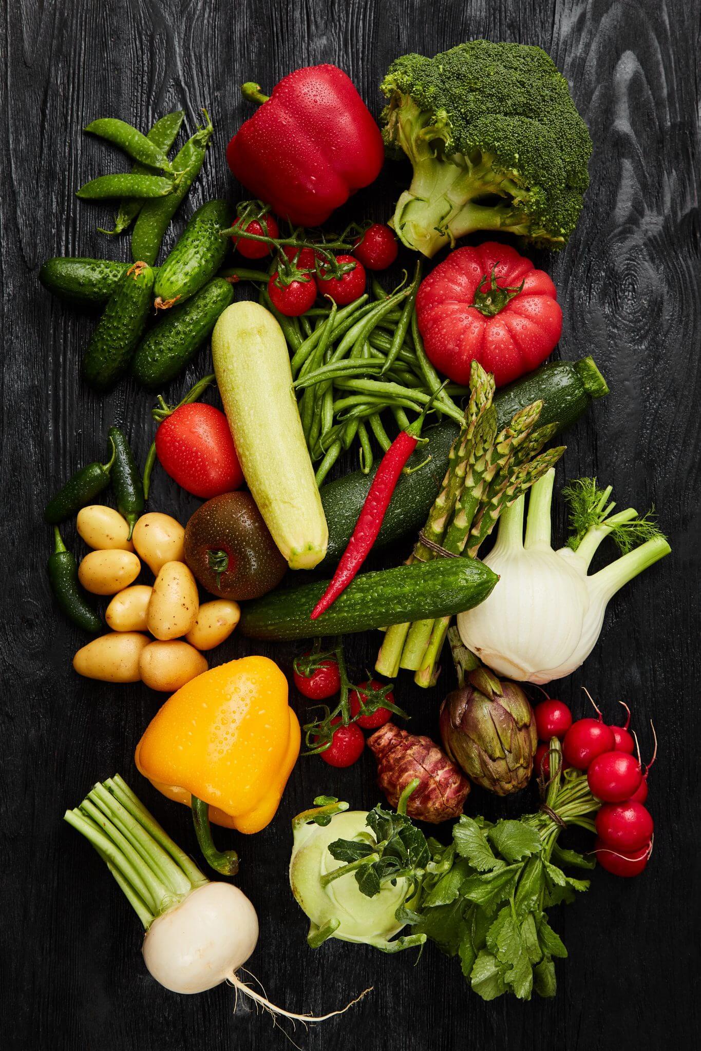Teoria - Warzywa - Kompozycja