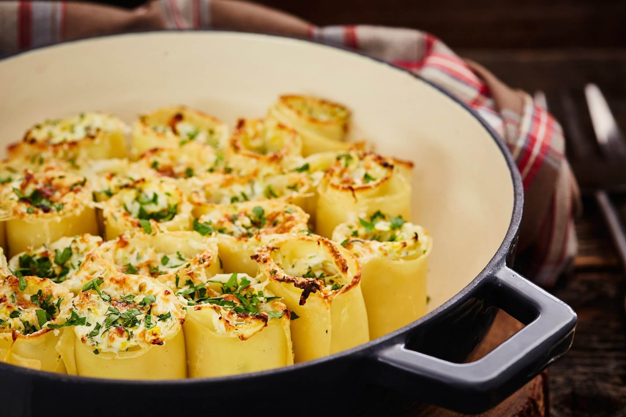 lasagne rolowana